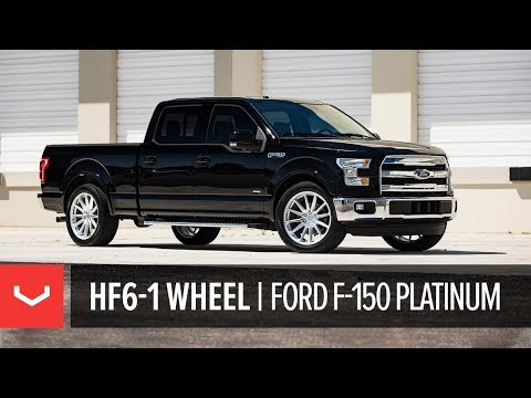 Vossen Hybrid Forged HF6-1 Wheel | Ford F-150 Platinum