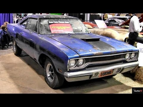 BARN FIND RARE 70 426 Hemi Road Runner