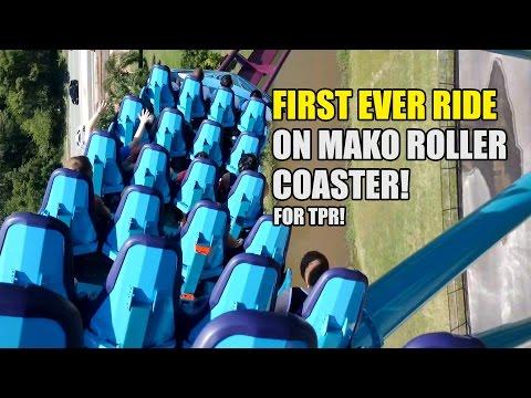 Mako, la nueva montaña rusa más rápida y alta de Orlando