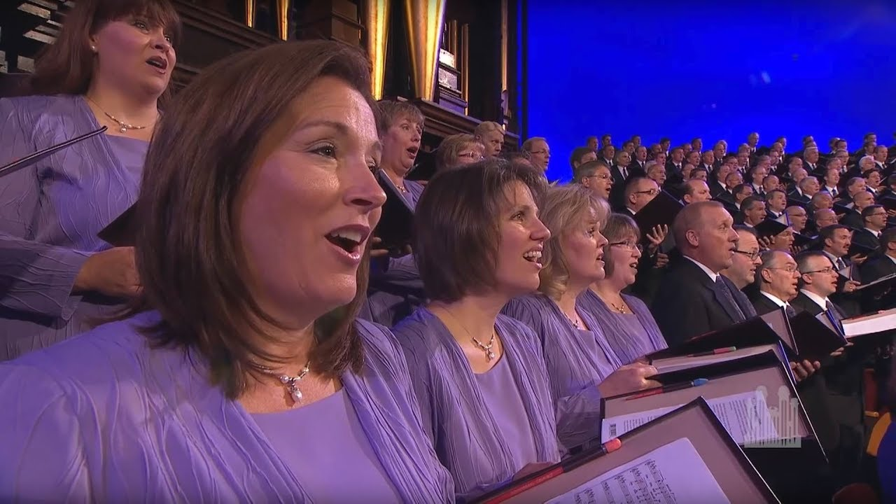 Each Life That Touches Ours for Good - Mormon Tabernacle Choir - YouTube