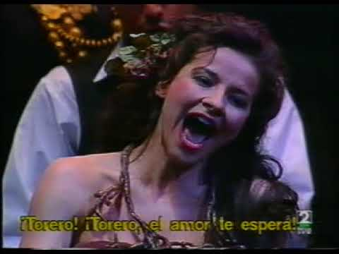 BIZET. CARMEN. ACTO II. TEATRO REAL.MADRID. ABRIL 1999.