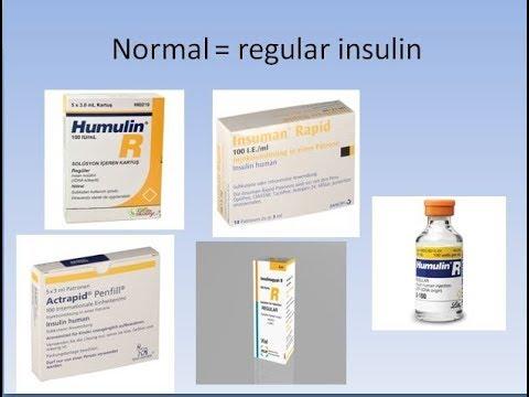 History of insulin - تاريخ الإنسولين