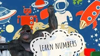 Learn counting 1 to 20. Learn Numbers. Learn English with King Kong