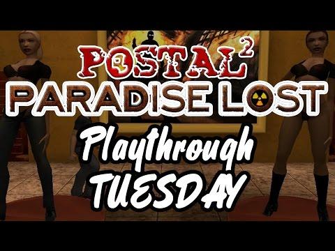 TUESDAY - Toilet Paper, Arcade Escapade & Zombie Church   Postal 2 Paradise Lost - Playthrough