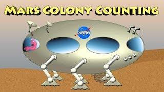 Mars Colony Clickton Station - Mars Colony Counting Mars Vehicles