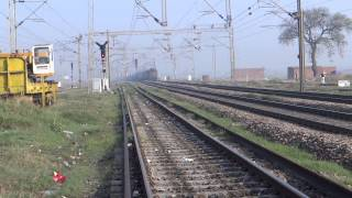 MY 500th UPLOAD: RAGING MUMBAI RAJDHANI MEETS AGGRESSIVE ANGUL WAG 5 CONCOR