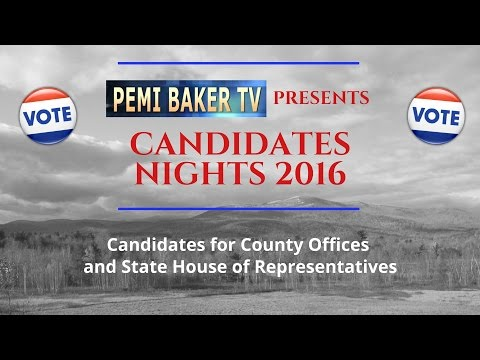Candidates Nights 2016 (County & State Reps)