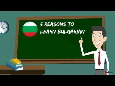 5 Reasons To Learn Bulgarian