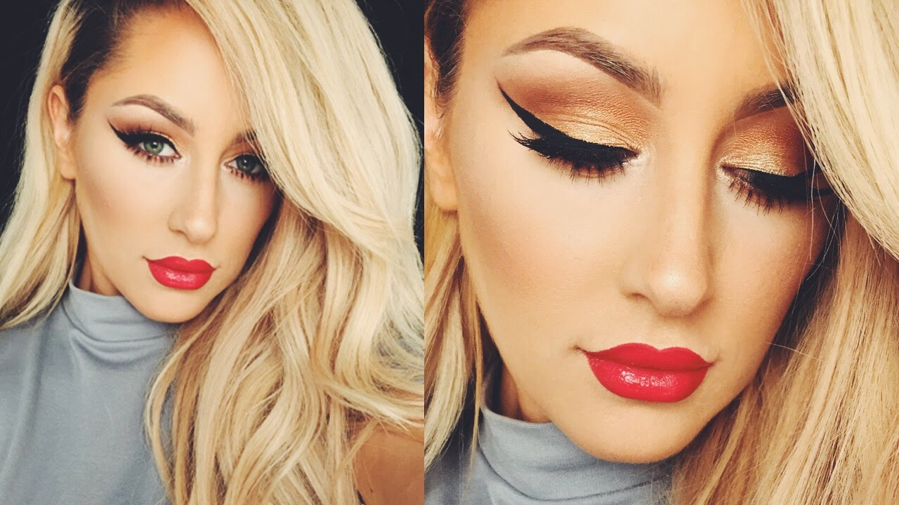 Classic Red Lip Makeup Tutorial Youtube