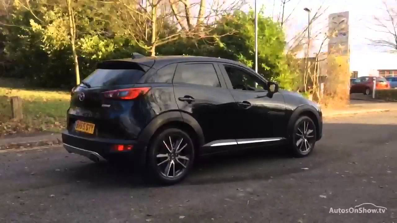mazda cx 3 sport nav black 2015 youtube. Black Bedroom Furniture Sets. Home Design Ideas