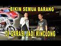 PROSES BIKIN KINCLONG SEMUA BARANG YANG ADA DI GARASI RUMAH GUE!!