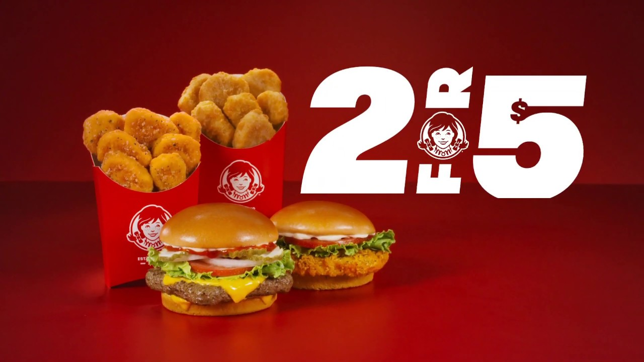 Wendy's 2 for $5