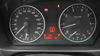 BMW E90   как сбросить ошибку датчиков давления в шинах