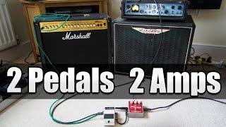 Royal Blood Effects 2 Pedals 2 Amps Explained