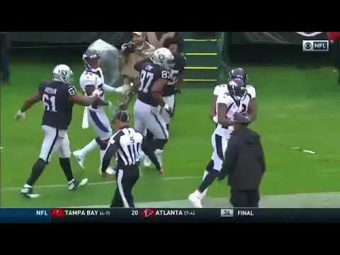 Aqib Talib Snatched Michael Crabtree Chain Again During There Fight