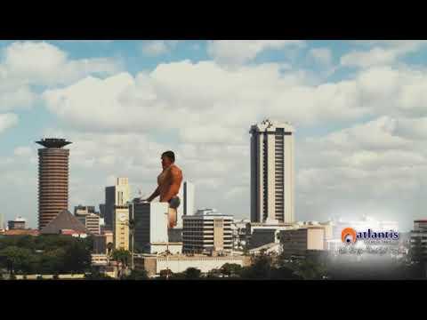 A Giant hanging out in Nairobi CBD Kenya | VFX by Atlantis Creative Studios