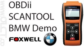 BMW 7 Series - NT600 Scanner ODBii Engine, SRS, & ABS Fault Code Scanner with Live Data