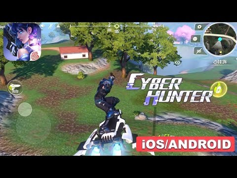CYBER HUNTER - IOS / ANDROID GAMEPLAY