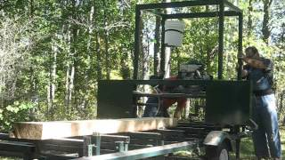 Homemade Portable Bandsaw Mill 2