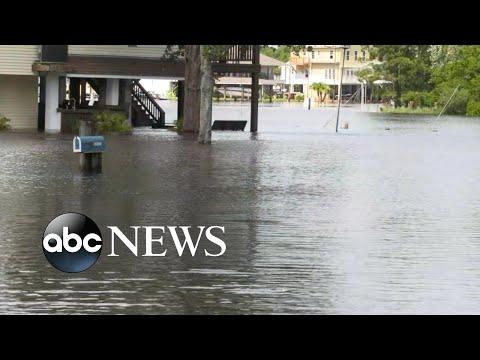 Tropical storm Claudette batters Gulf Coast