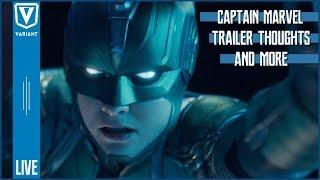 Captain Marvel Trailer Review!