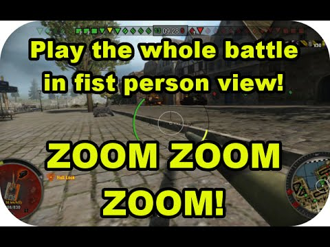 E-25 First person view battle! ZOOM ZOOM ZOOM!  (World of Tanks Xbox)