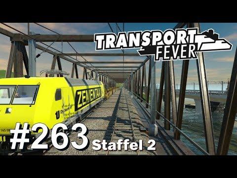 TRANSPORT FEVER S2/#263: Zementaxi für's Baumaterial [Let's Play][Gameplay][German][Deutsch]