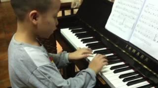 Giờ ăn đến rồi - piano Nhật Minh (6T)