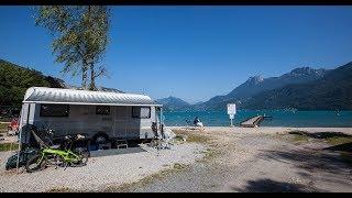 Impressie van Camping international Du Lac Bleu-Meer van Annecy