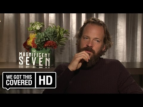 Exclusive Interview: Peter Sarsgaard Talks The Magnificent Seven [HD]