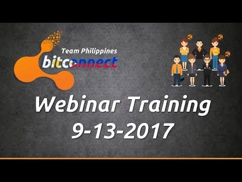 Bitconnect Tagalog Team Philippines - Webinar - Sept. 13 2017