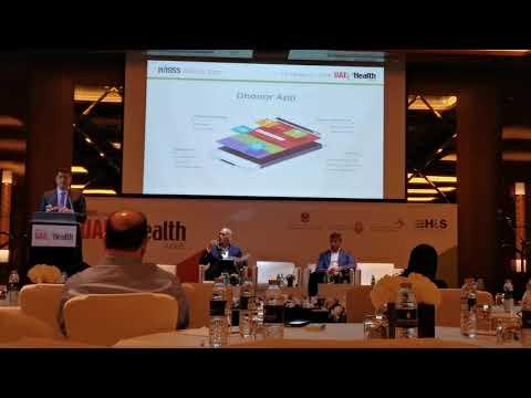 Dhonor at HIMMS UAE Health week.