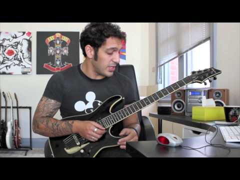 How to play Bodom After Midnight  Children Of Bodom Guitar Solo Lesson