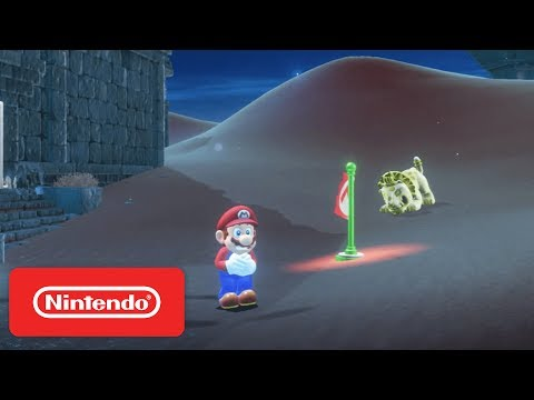 Super Mario Odyssey - Sand Kingdom & New Donk City Demonstration - Nintendo E3 2017