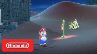 Super Mario Odyssey - Sand Kingdom & New Donk City Demonstration - Nintendo E3 2017