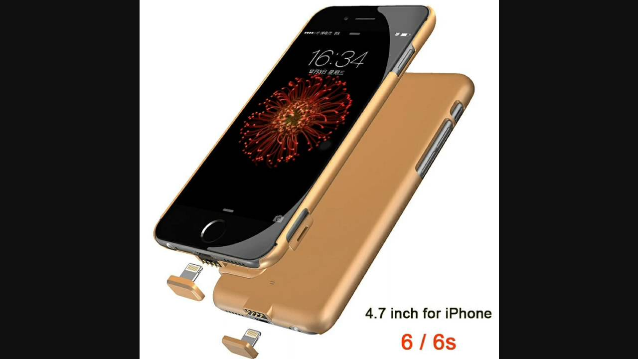 custodia powerbank iphone 6s