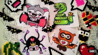 Halloween Drawings - How To Draw Easy and Kawaii Animals by Garbi KW