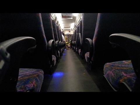 DETROIT DIESEL SERIES 60 W JAKE BRAKE ENGINE SOUNDS NJ TRANSIT D4500 BUS 8203