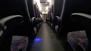 audio only nj transit d4500 bus 8203 on the 139 from lakewood to freehold detroit diesel series 60