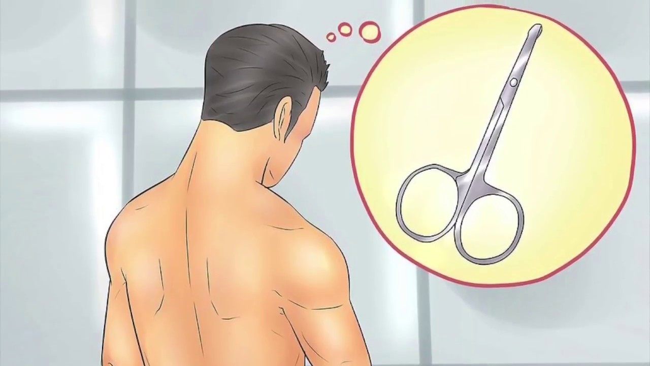 First time shaving pubic hair men