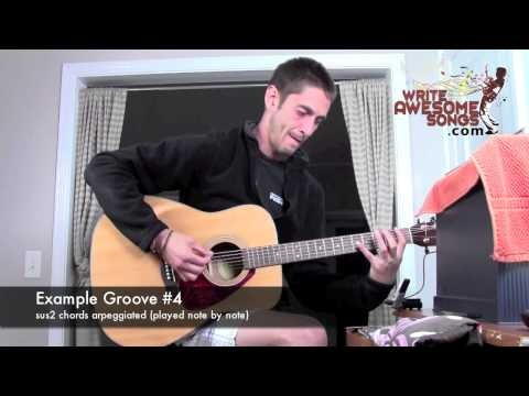 Songwriting Technique - Groovy Grooves (5 Examples)