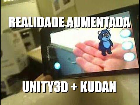 Tutorial Unity5 + Kudan No. #01 Markerless Augmented Reality