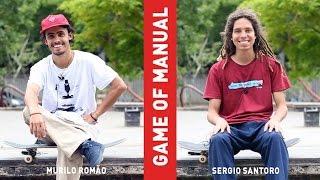 Game of SKATE de MANUAL - Murilo Romão vs Sergio Santoro