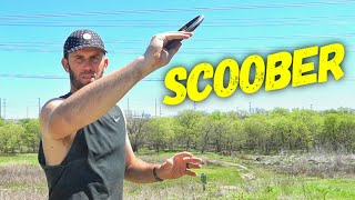 How To Throw The Scoober | Brodie Smith Disc Golf