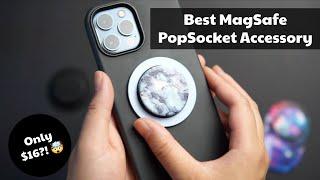 Best MagSafe PopSocket Accessory | Magnetic Base vs. PopGrip for Magsafe | @LizzLovestech