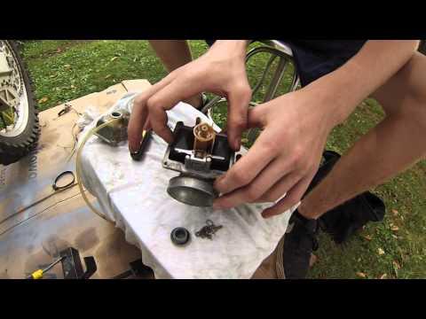 2 Stroke Carburetor Rebuild. Rm 250. Part 1
