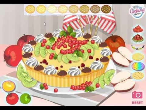 Яблочный пирог с малиной