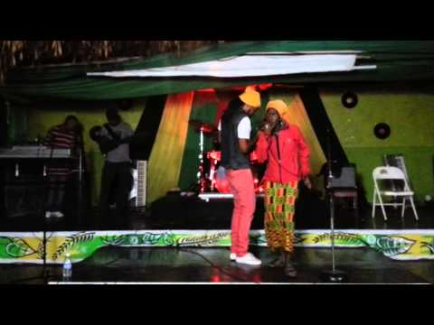 HEFLA NYAH performing at COMFITANYA BAR & RESTAURANT IN JAMAICA!