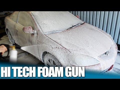 Wash Your Car With This Hi Pressure Foam Gun