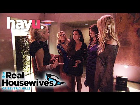 Tension Breaks Out At Taylor's Birthday | The Real Housewives of Beverly Hills